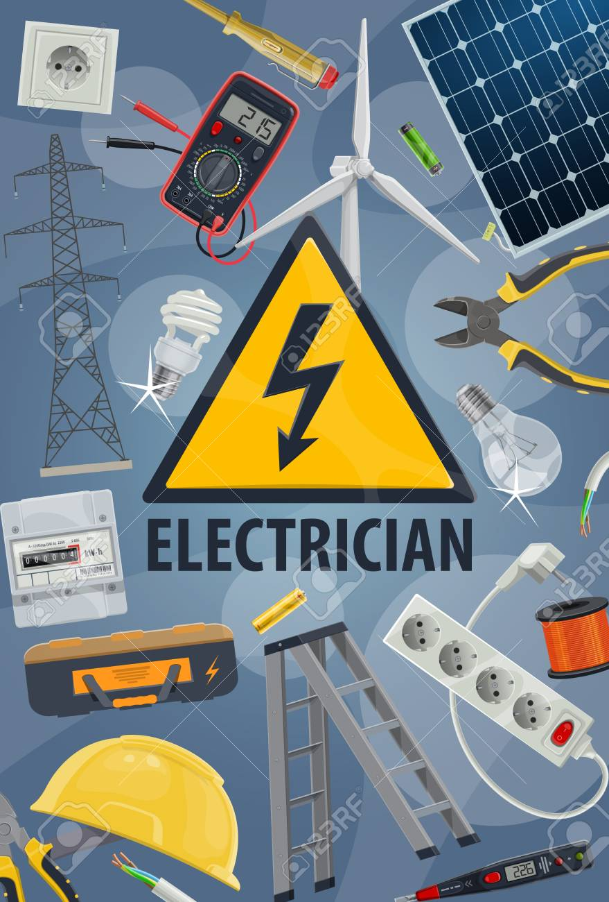 Electric service, electricity equipments and tools